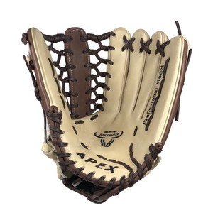 Modified Trap Web Genuine Leather Durable Mesh Baseball Gloves for Kid and adult