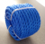Blue  3 strand  8mm  Twist poly PP  polypropylene  rope jumbo reels packing rope thread