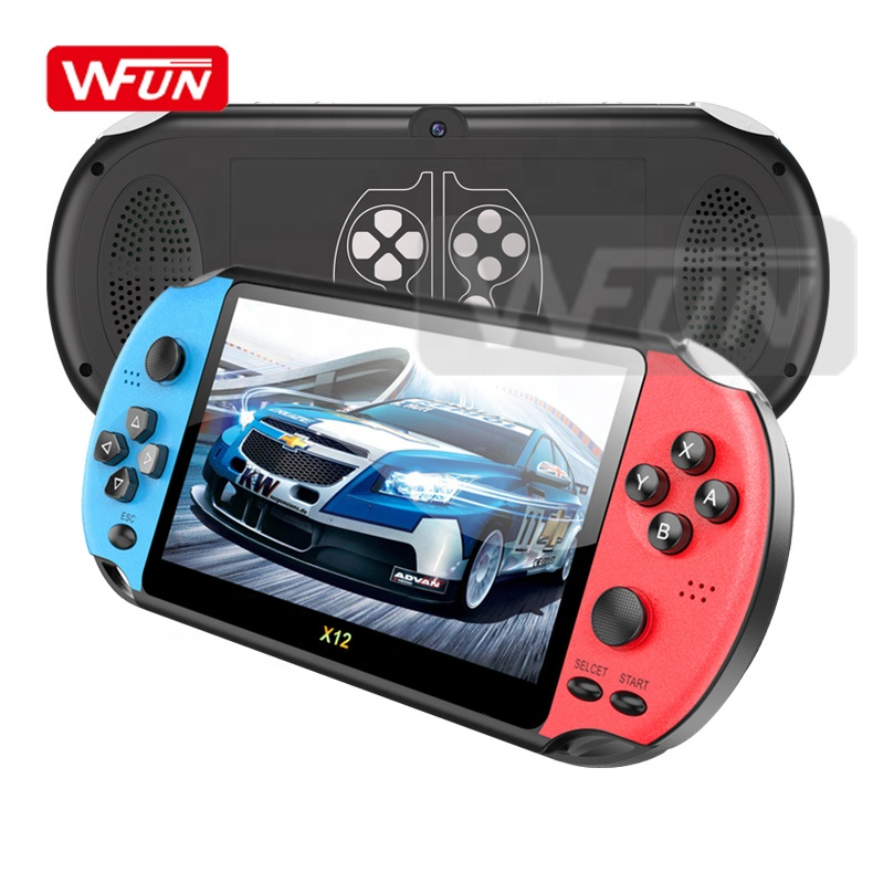 5.1 inch Screen 32bit PSP <strong>X12</strong> Arcade Retro Kids Handheld Video Game Player Gaming Console Support E-BOOK Picture Camera MP3