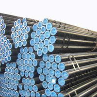tube manufacture black painting astm a106 gr.b seamless steel pipe tube