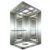 Hairline/Etching/Mirror Stainless Steel Elevator for Building, Luxury