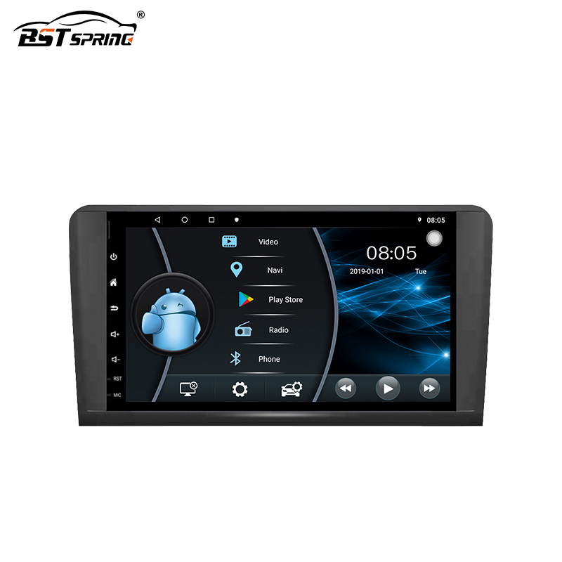 Bosstar Quad core <strong>android</strong> car stereo gps navigation system dvd player for Benz ML Class ML-<strong>W164</strong>/W300/ML350/ML450/ML500 2005-2013