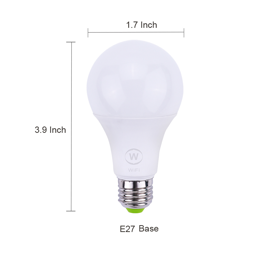 CE RoHs Smart wifi led lighting <strong>bulb</strong> e27 e26 led <strong>bulb</strong> via android ios devices <strong>10</strong> - 499 Pieces
