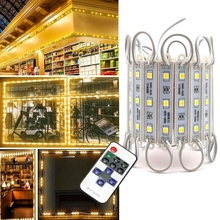 Storefront Lights Pomelotree 3 Led 40PCS 5050 LED <strong>Module</strong> Lights Waterproof LED Window Lights withTape Adhesive
