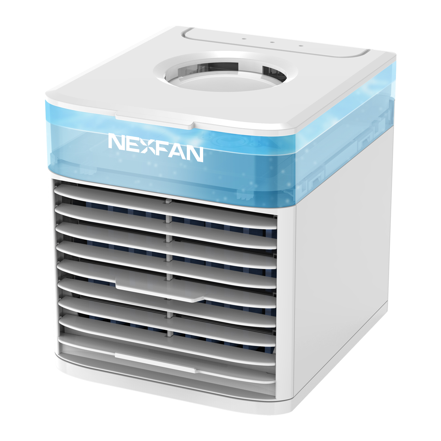 2020 new nexfan ultra air cooler for room and office upgrade portable <strong>AC</strong> for outdoor 7 LED lights