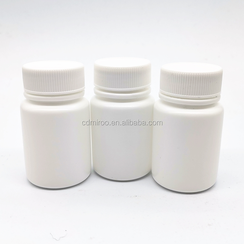 30ml 30g 30cc Empty Refillable White HDPE Plastic <strong>Pill</strong> Container Box Bottles Case