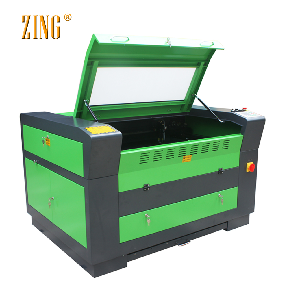 ZING Z6090 China CE 6090 co2 laser/cnc laser <strong>cutter</strong>/<strong>100</strong> watt laser