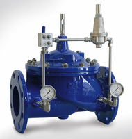 SS Pilot-operated back pressure regulator for high flow rates oem manufacturer in China 25C 40C