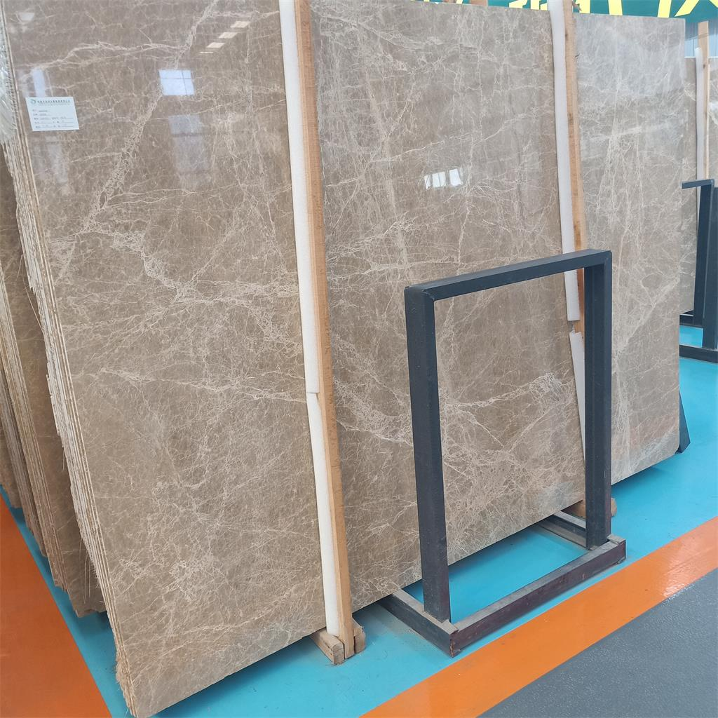 Emperador Light  marble slabs and tiles for floor and wall