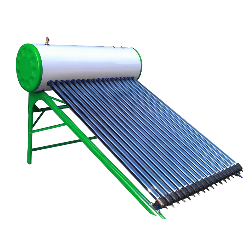 Jamaica Water Heater Application and Glass Pipe Material universal solar hot water heater collector