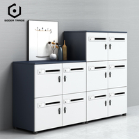 Office furniture 3 drawer mobile pedestal metal file cabinet storage cabinet drawers