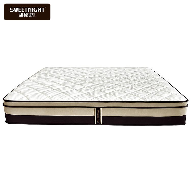 3D fabric high density foam king star warm bed mattress in a box for sale - Jozy Mattress | Jozy.net
