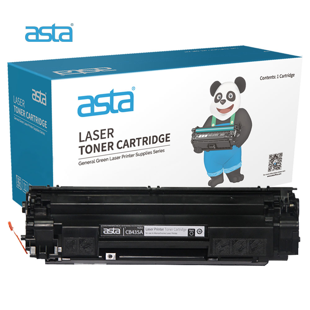 ASTA Stock Wholesale Universal Compatible CB435A 35A Toner Cartridge For HP P1002 P1003 P1004 P1005 <strong>P1006</strong> P1009 Laser <strong>Printer</strong>