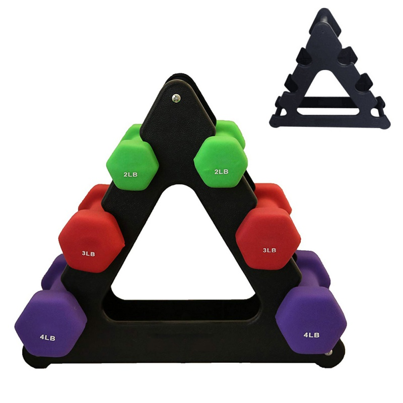 Weight Lifting Dumbbell Tree Rack Stands Weightlifting Holder Dumbbell Floor Bracket Home Exercise Accessories