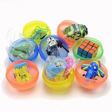 58mm DIY educational surprise capsules egg toys mixed designs gashapon coin-operated twisted egg ball toy for vending machine