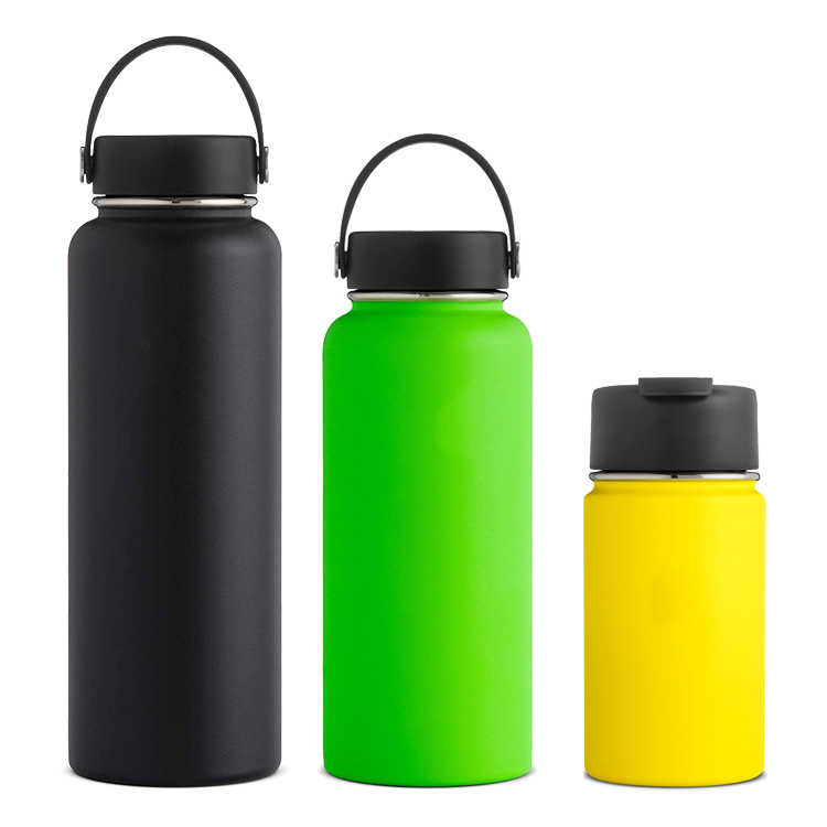 18/8 Stainless Steel Wide Mouth Thermos 12-40 oz water vacuum Flask with Custom Logo