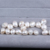 12-13mm baroque freshwater loose pearl half beads for making earrings