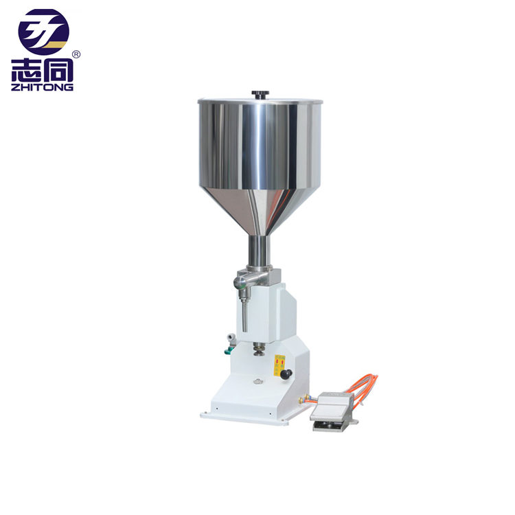 5-50ml <strong>A02</strong> pneumatic volumetric cream paste oil honey liquid filling machine