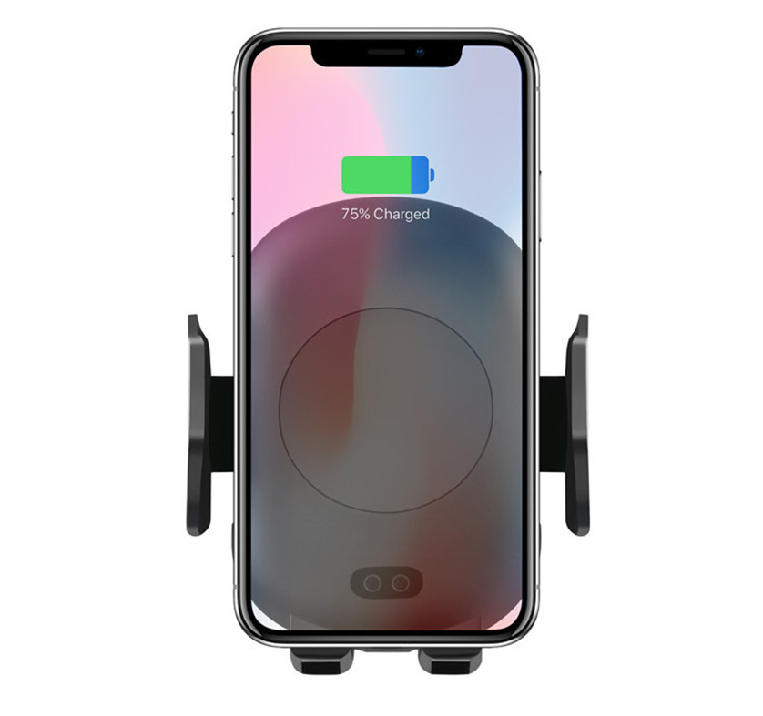 Factory Direct Selling <strong>C10</strong> Wireless Vehicle Charger 10W Wireless Charger Bracket Applicable to Iphone Huawei Samsung