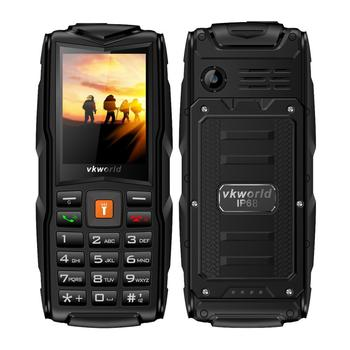 China Factory Direct Sale vkworld New Stone V3 2.4inch Outdoor Use Triple SIM IP68 Waterproof Rugged Mobile Phone