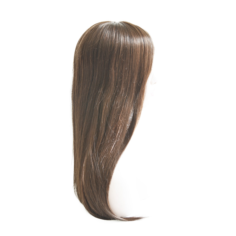 Dark s Brown Color Virgin Hair Full Swiss Lace Wig With Silk Top In The Front