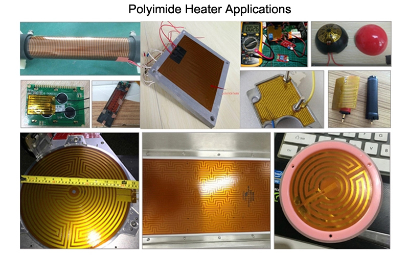12V Flexible Heater Film Kapton Heater Heating Element