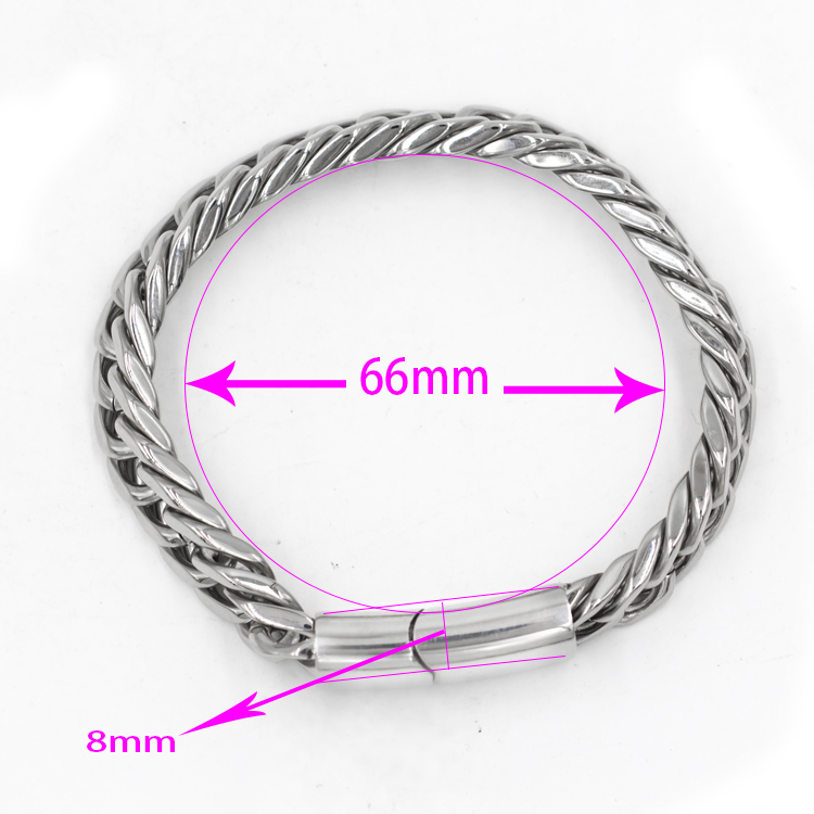Handcraft silver plated jewelry hot sale stainless steel bracelets jewelry sale for men women jewelry