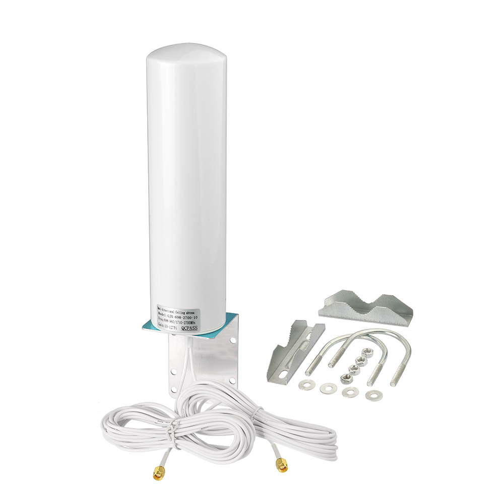 4G LTE Outdoor <strong>Antenna</strong> 698-2700MHz 12DBi Omni External Barrel <strong>Antenna</strong> Daul SMA for Verizon AT&amp;T Sprint 4G LTE Router