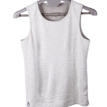 EMF shielding sleeveless t-shirt made with 100% of silver anti radiation <strong>fabric</strong>, blocking WIFI signal with test video