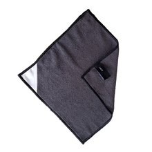 Microfiber car cleaning dish towel 10&quot;<strong>x10</strong>&quot; chalkboard cleaning magnetic towel