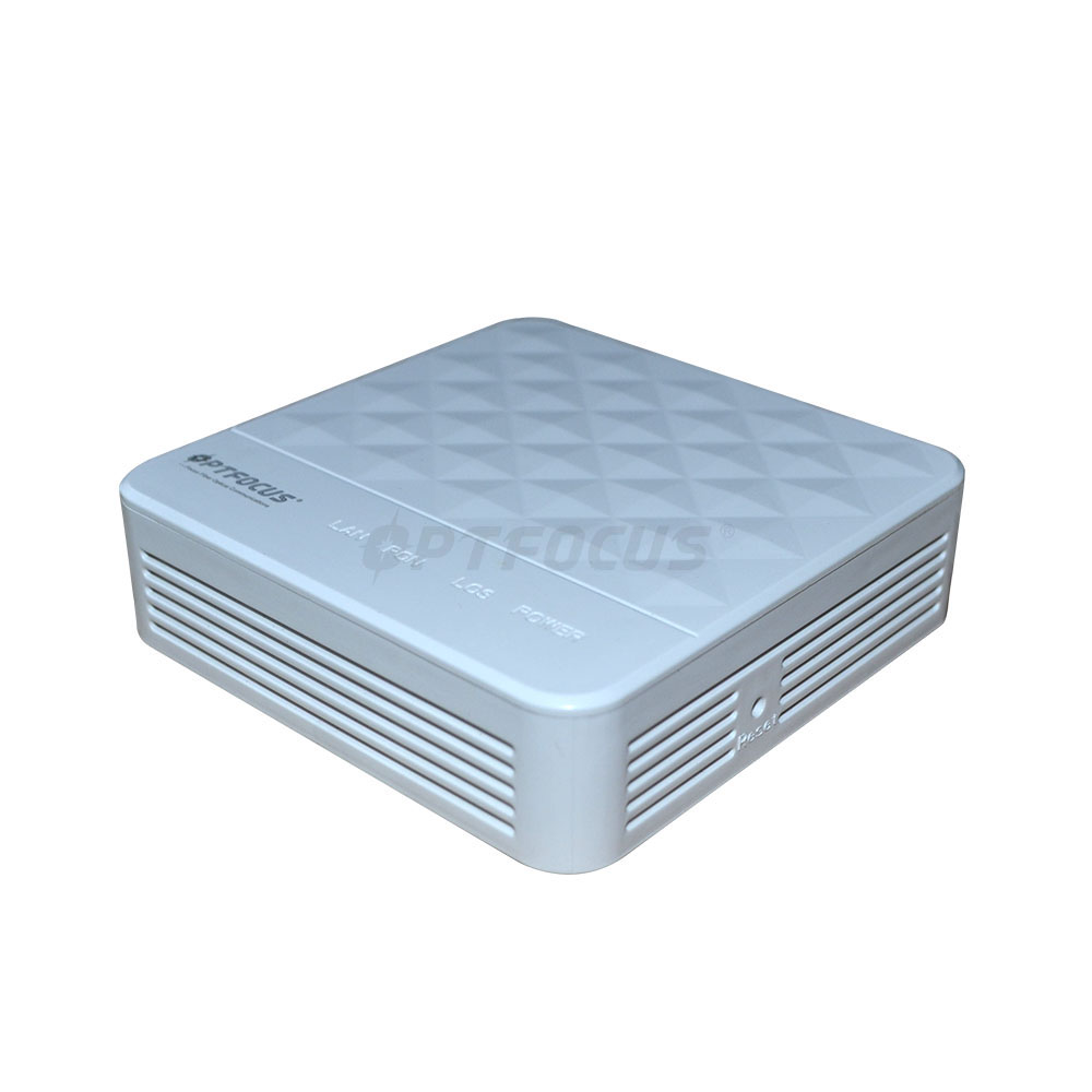 EPON ONU 1GE Single Port Fiber Optical <strong>Network</strong> Unit10/100/1000M Fiber Router Modem Compatible HUAWE VSOL ZTE