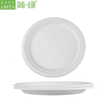 Easy Green 15 Years Factory Manufacturer 100% Biodegradable/BIO Sugarcane Bagasse Disposable <strong>Plates</strong>