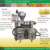 2 in 1 complete oil production plant oil pressing with oil filter 3T-6T per day