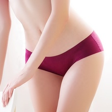 Wholesale ladies seamless <strong>underwear</strong> satin panties Nude sexy short panty woman <strong>underwear</strong>