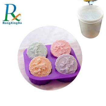 Soap mold making RTV2 silicone rubber tin cured silicone rubber