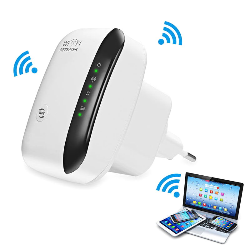 300Mbps <strong>WiFi</strong> Repeater Portable Signal Booster Wireless Ap Signal Amplifier Black&amp;White Plug HGJVBFGH1 300Mbps <strong>WiFi</strong>