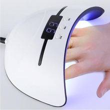 Professional Nail Art Tools Gel UV LED Lamp Gel Nail Polish LED UV Light Nail Dryer with 3 Timers