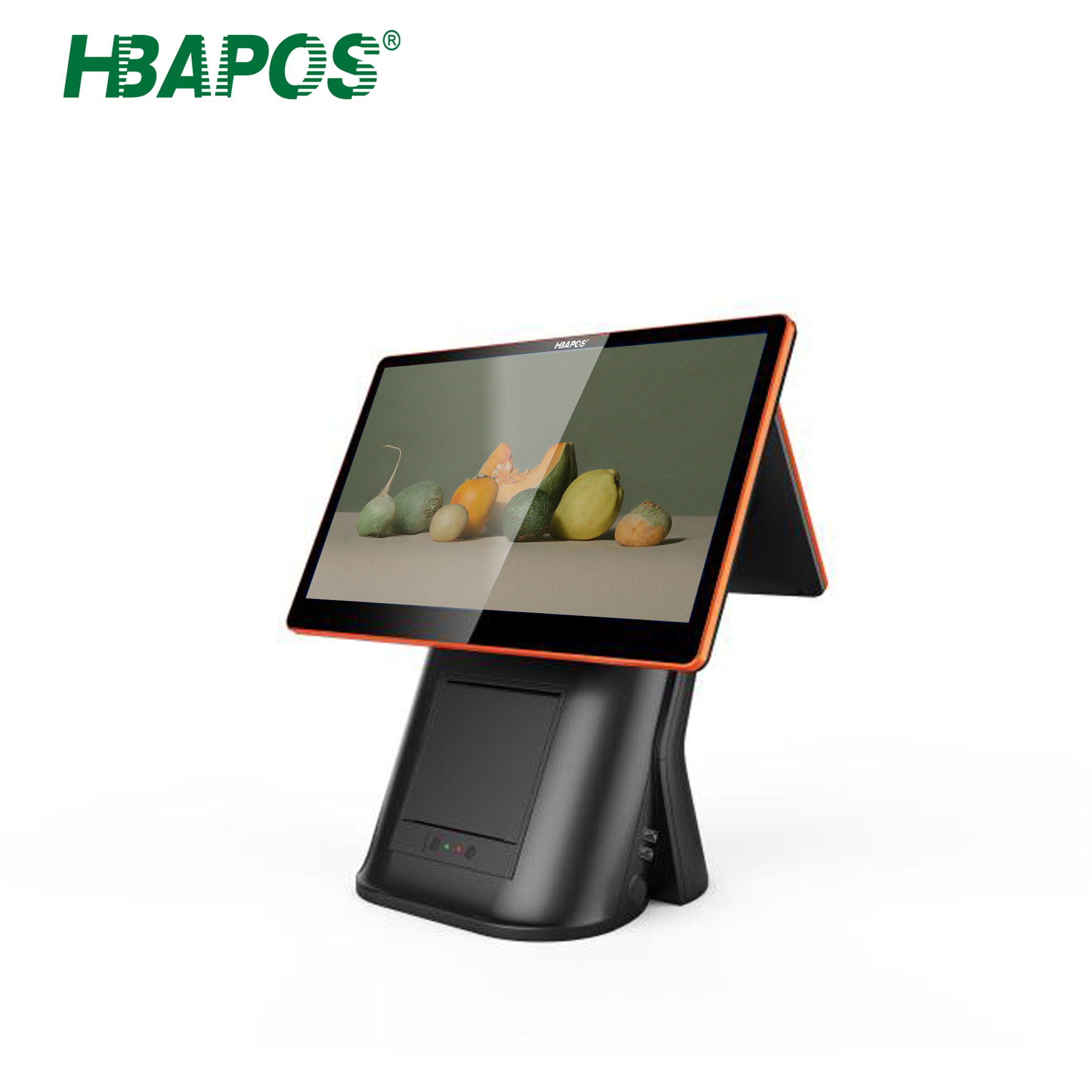 15.6 Inch Vertical Cash Register Restaurant POS <strong>System</strong> with 80MM Thermal Printer