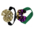 baby girl big bow baby accessory gold/green /purple color sequin cotton brand bow headband mardi gras  headband