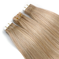 Hot Sale 100% Virgin human Hair invisible russian tape hair extensions