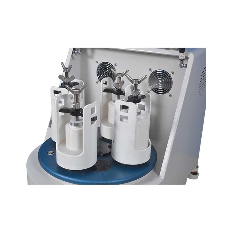 Desktop Automatic High Speed Planetary Ball Mill with Optional Vacuum Jar for Lab