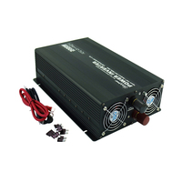 High efficiency 12 24 volt to 110 220 volt modified sine wave 3000 watt power inverter