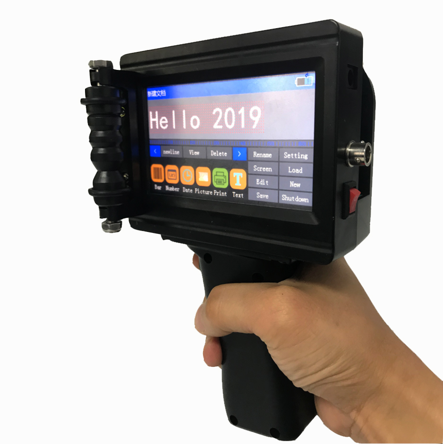 2019 newest industrial portable handheld inkjet <strong>printer</strong>