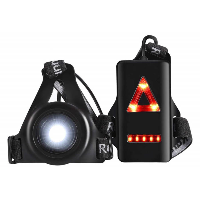 Hot Selling USB LED Running Light rechargeable safety warning light