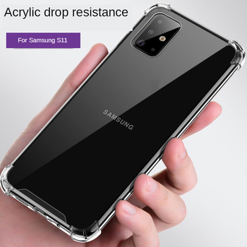 1.0mm slim acrylic for Samsung S3 S4 S5 S6 S7 S10 S20ultra Mobile Phone Cover for Note2 3 4 5 8 9 10Pro transparent phone bag