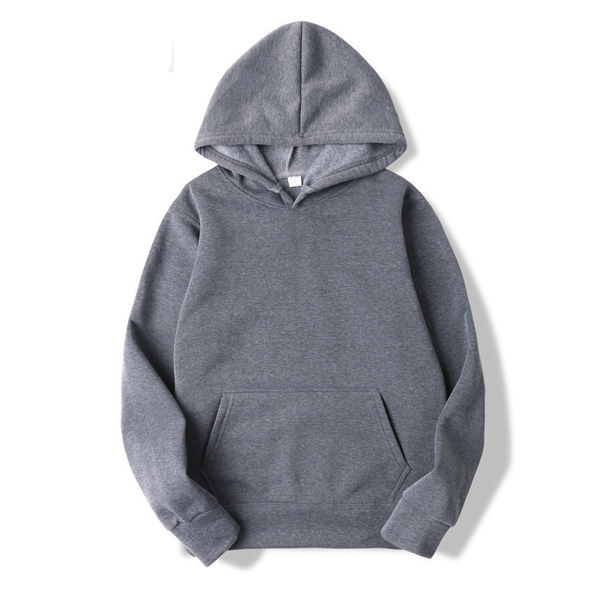 2020 Spring Autumn Male Casual Hoodies Sweatshirts Fashion Men's Solid Color Hoodies Sweatshirt Tops