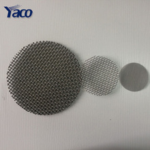 China hengshui 30 50 micron stainless steel metal filter wire <strong>mesh</strong> screen disc