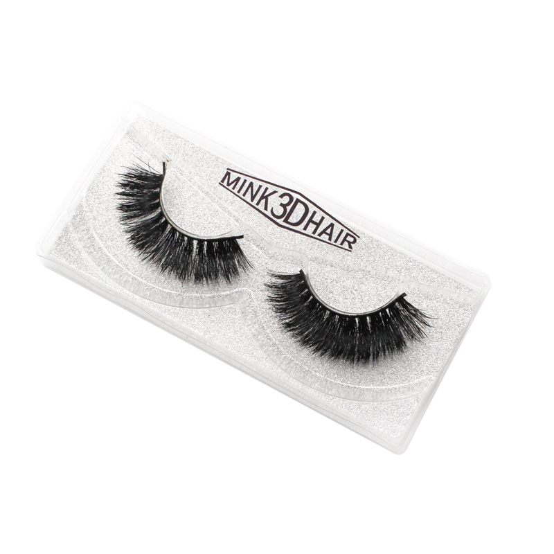 Chinese Eyelash Factory Wholesale Supplier provide 3D mink lashes free sample full strip mink eyelash <strong>H07</strong>