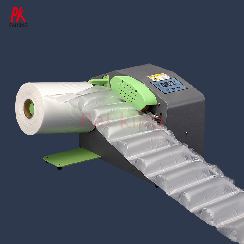 High efficiency Professional Inflatable Air Cushion <strong>Roll</strong> <strong>Form</strong> Air Bubble Column Film Making <strong>Machine</strong> Express shockproof foam bag