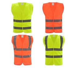 <strong>Safety</strong> running reflective vest yellow fluorescence hi <strong>safety</strong> security visibility work clothes